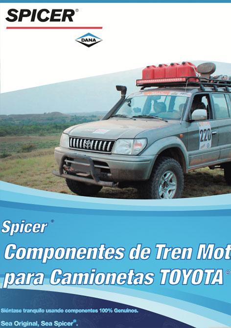 Spicer - Catálogo Toyota